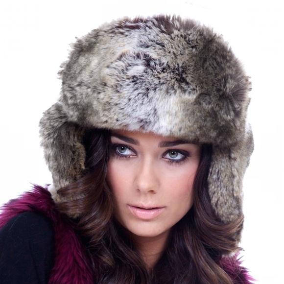 e3a382d12 IMPOSTER Faux Fur Trapper Hat, Grey Wolf Boutique